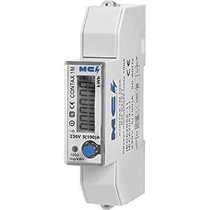 Mci - Compteur Electrique Monophasé 100A Modulaire, Branchement Direct, RS485 Modbus M