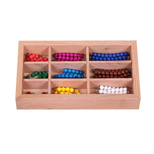 YeahiBaby Kinder Bunte Perlen Stick Spielzeug Set Handwerk Perlen Kits für Kleine Mädchen DIY Halsketten Armband Kinder Spiele