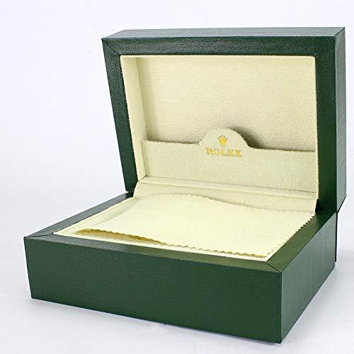ROUHO Grüne Lange Samt Plüsch Uhrbox High-End Flip Holz Uhr Schrank Etui Für Rolex (Vitrine Uhrenarmband)