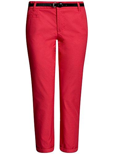 oodji-ultra-femme-pantalon-chino-avec-ceinture-rouge-fr-40-m