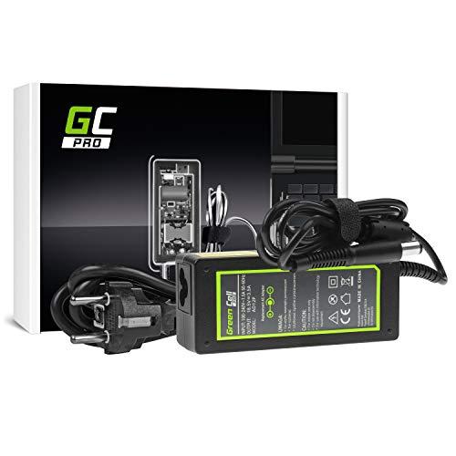 GC PRO Netzteil für HP Compaq Presario CQ50-115TR CQ50-116AU CQ50-116EE CQ50-116EM Laptop Ladegerät inkl. Stromkabel (18.5V 3.5A 65W) -