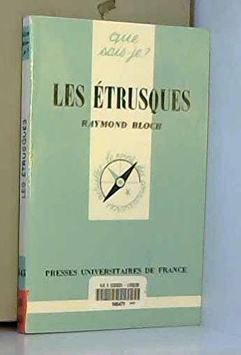 Les Étrusques par Raymond Bloch
