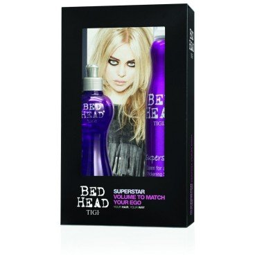 Tigi Bed Head Superstar Queen for a day 320ml + Superstar Blowdry Lotion 250ml - Superstar Geschenkset