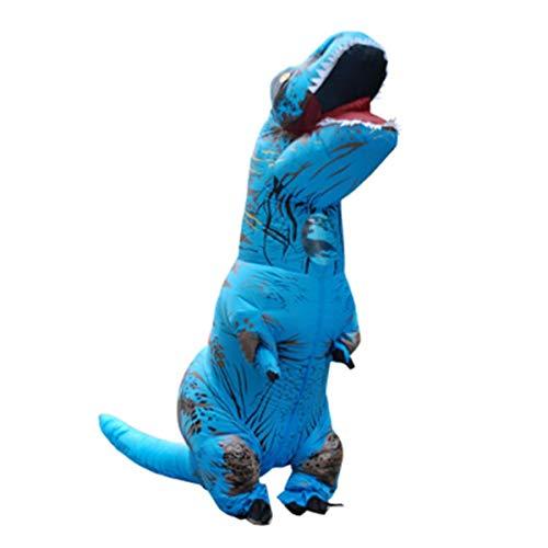 8HAOWENJU Aufblasbare Dinosa, Aufblasbare Dinosaurier, Aufblasbares Dinosaurierkostüm, Halloween-Dinosaurierkostüm, Tyrannosaurus Tyrannosaurus Aufblasbares Kostüm Gute Qualität und Haltbarkeit