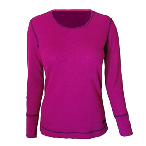 Hot Chillys Damen Waffel Scoop Top, damen, Razzle (Hot Waffel Chillys)
