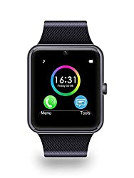 Noise Digital Black Dial Unisex Smart Watch with Sim Card Slot and Camera (GT08-SMARTWATCH-BLACK)