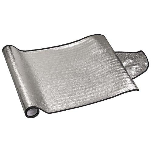 Hama Automotive Sonnenblende für Frontscheibe, 187 x 68 cm, Silber