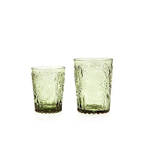 En y de cristal de hecha a mano, de alta calidad y producto sostenible de Portugal. y así 100% reciclado respetuoso con el medio ambiente y sostenible. la facilidad de grünliche producto energético para Recycled, pues es nuevo geschmolzenes vidrio. y...