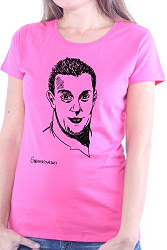 Mister Merchandise Ladies T-Shirt Rob Gronkowski Frauen Damen Tee Pink