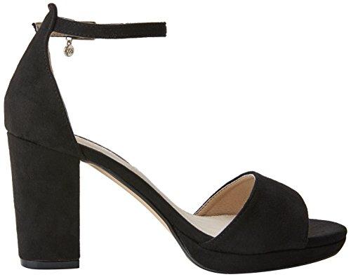 XTI Damen 30686 Riemchenpumps Schwarz (Black)