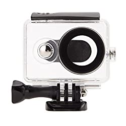 Waterproof case for Xiaomi Xiaoyi Yi Sports action camera 40 meter underwater | Black color