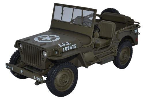 Welly 18036 - Sammlermodell Armee Geländewagen 1/18 aus Metall (Diecast 12 1 Scale)