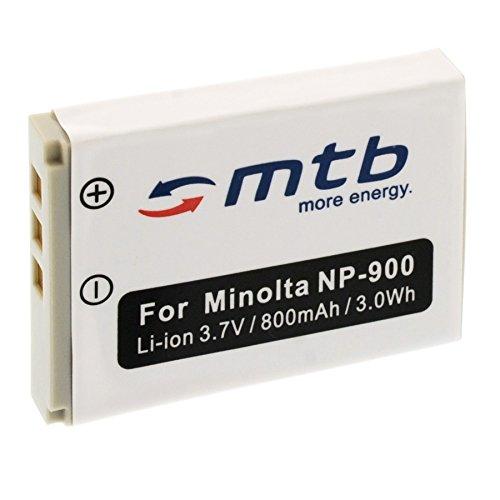 Ersatz-Akku für Konica Minolta NP-900 / Olympus Li-80B … (siehe Liste)
