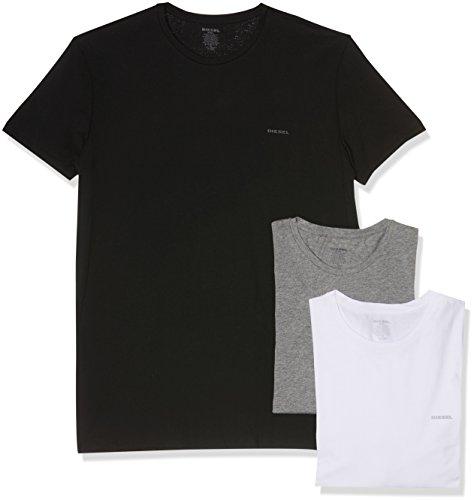 Diesel Herren Umtee-jakethreepack Unterhemd, Mehrfarbig (Blue/White/Grey 01), XX-Large (erPack 3)