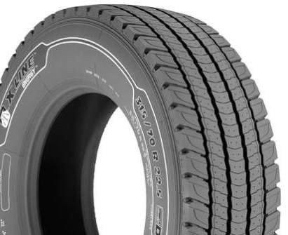 Michelin X Line Energy D - 315/80/R22.5 156L - B/C/68 - Pneu Hiver (Light Truck)