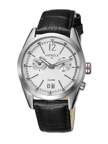 Kienzle - K3071011011-00079 - Montre Homme - Quartz Analogique - Alarme - Bracelet Cuir Noir