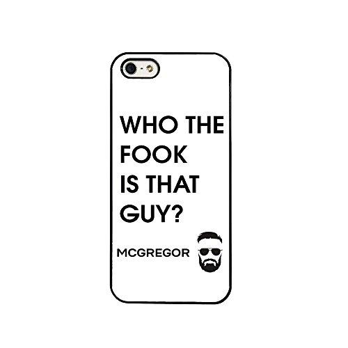 Conor McGregor UFC Fight MMA The Notorious Irland Irish Fighter Handy Schutzhülle für iPhone 7(11,9cm)-in weiß