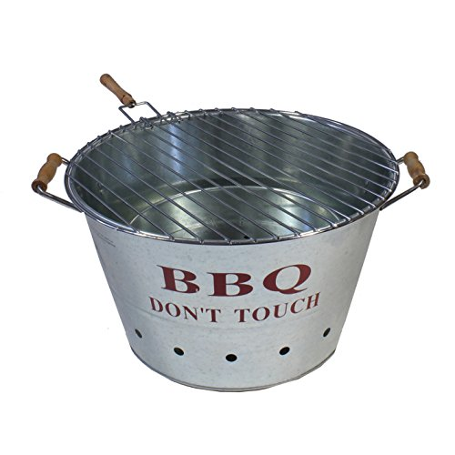 BBQ Dont touch Grill 40cm x H 24 cm Picknick See Grillen Grilleimer
