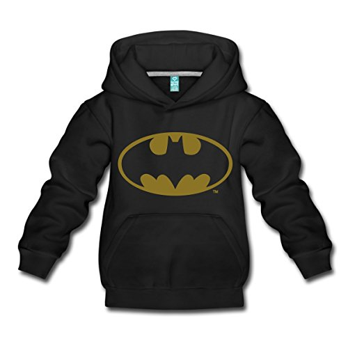 Spreadshirt DC Comics Batman Logo Gold Kinder Premium -