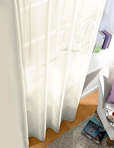 Splendid Collezione DIANA - Tenda con nastro, 300 x 280 cm, colore bianco