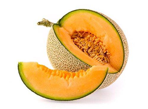 AllThatGrows Musk Melon Golden Orange Flesh, Muskmelon Seeds, 50 Kharbuja Seeds