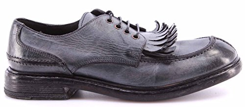Scarpe Donna MOMA 73503-6F Ghost Platino Pelle Vintage Made In Italy Nuove