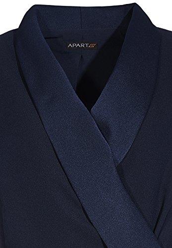 APART Fashion 67152 - Robe - Femme Bleu - Bleu (marine)