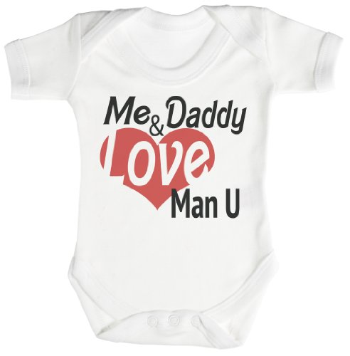 TRS - Me & Daddy Love Man U Baby Bodysuit...
