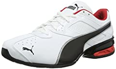Idea Regalo - Puma Tazon 6 FM, Scape per Sport Outdoor Uomo, Bianco White Black Silver, 40.5 EU