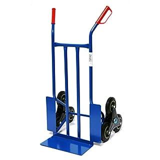 Sackkarre für Treppe 250 kg, 108x53x55 cm, blau (Treppen-Sackkarre Transportkarre Stapelkarre Handkarre)