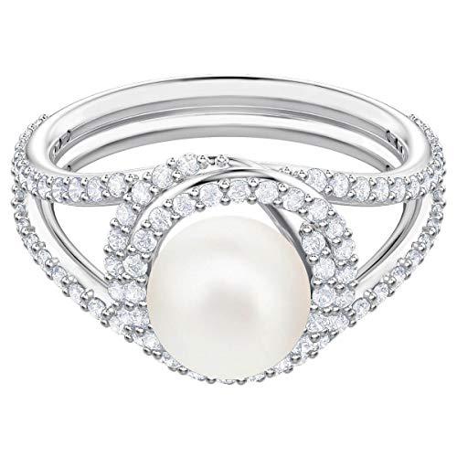 Swarovski Damen-Ringe Edelstahl Kristall \'- Ringgröße 52 5482707