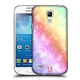 Head Case Designs Einhorn Schimmerndes Marmor Ruckseite Hülle für Samsung Galaxy S4 Mini I9190