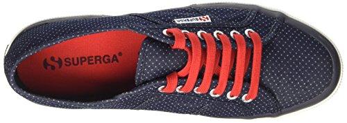 Superga 2750-Italianshirt Cotm, Sneaker a Collo Basso Uomo Blu (Blue Indigo Dots)