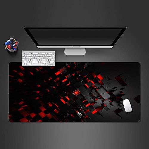 YWSZY-Mouse Pad Rote Mausunterlage Pc-Spielcomputermaus-Tischmatte des Modus 3D Zum Spielspieler, Der Qualitätsspielmausunterlage @ 800X300X2 Am Besten Verkauft