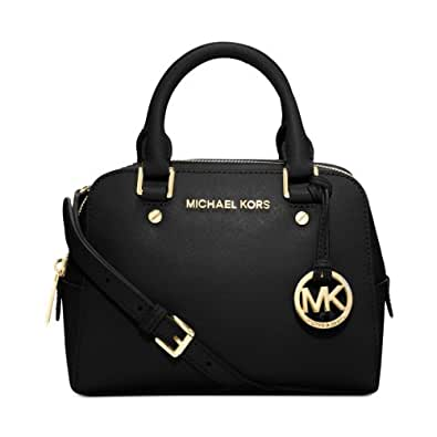 michael kors jet set reisetasche handtasche schwarz. Black Bedroom Furniture Sets. Home Design Ideas