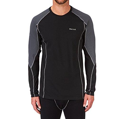 Marmot ThermalClime Pro T-Shirt à Manches Longues et col Rond pour Homme