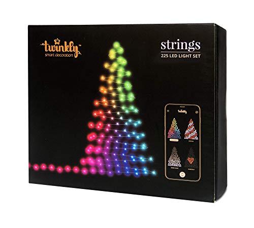 Twinkly - 225 LEDs, Illuminazione per albero di Natale controllabile via smartphone....