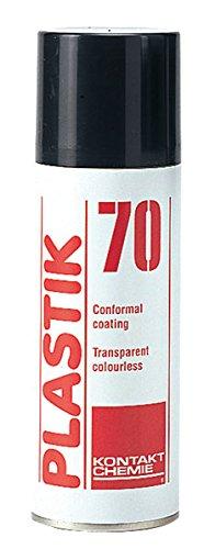Kontakt Chemie Plastik 70–Laque acrylique Claire,