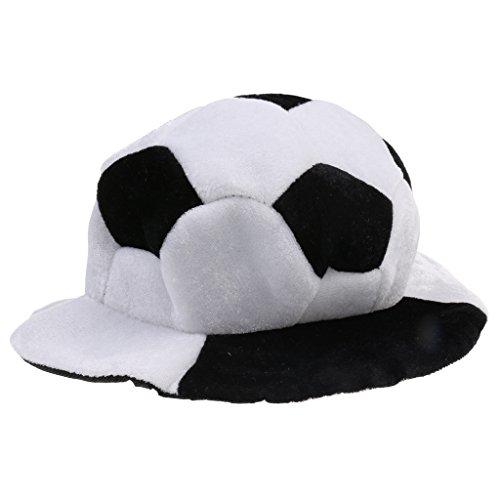 MagiDeal Fan Hut Fußballhut Fußball Mütze Karneval Fasching Cap Party Fanartikel Party Artikel Fanmütze Mütze - Fußball