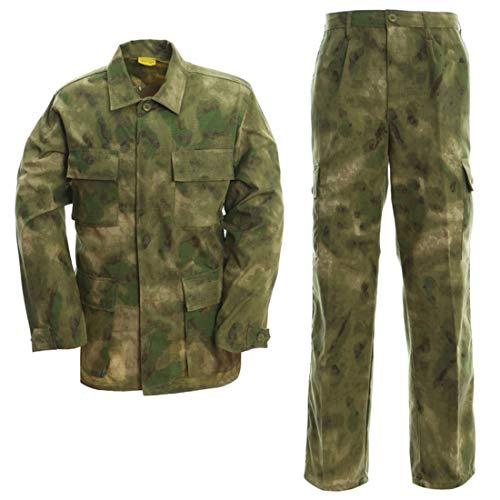 Taktische Airsoft-Bekleidung BDU Military Camouflage Uniform Suit Jacket & Pants Camo Bdu Military Shirt Jacket