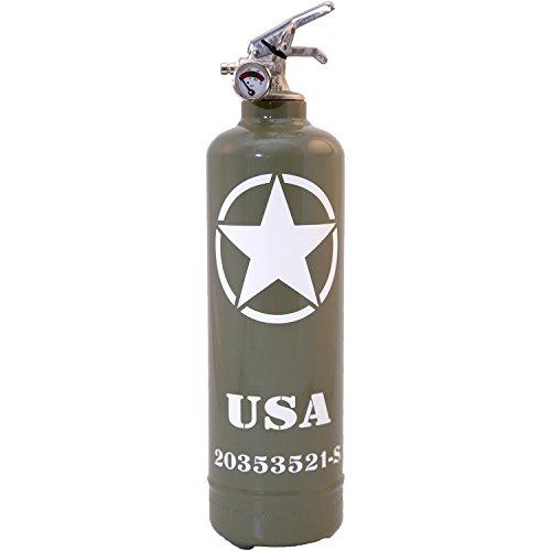 Extintor Design Willys USA color caqui