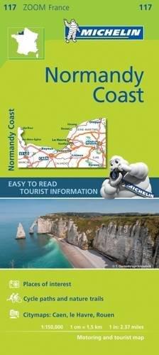 Costa della Normandia 1:150.000 (Carte zoom) por Michelin