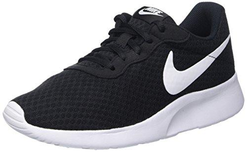 Nike Damen Tanjun Laufschuhe, Schwarz (Schwarz/Weiß), 40 EU (Schuhe Sports Schwarz)