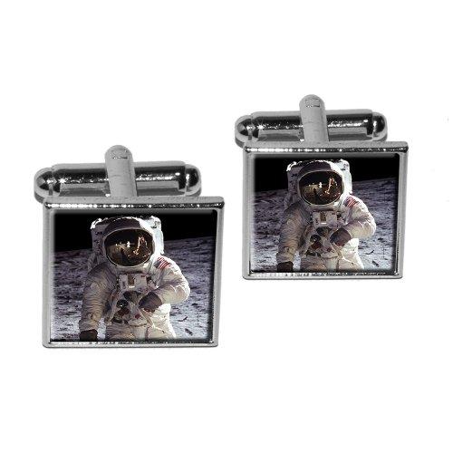apollo-11-moon-landing-astronaut-space-square-cufflink-set-silver