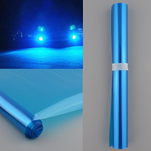 THG Auto Scheinwerfer Folie Tönungsfolie 30x120cm (blau)
