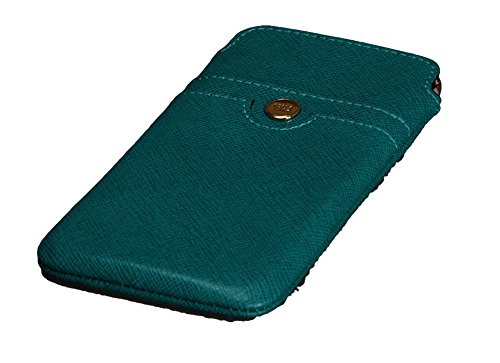 Sena Ellie Ultraslim Leder Sleeve für iPhone 6, Pacific Blue -