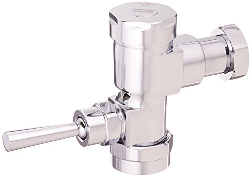 American Standard 6047.525.002 Exposed Manual Flowise 1.28 Gpf Toilet Bowl Flush Valve Only for Retrofit, Polished Chrome - Gpf-tank