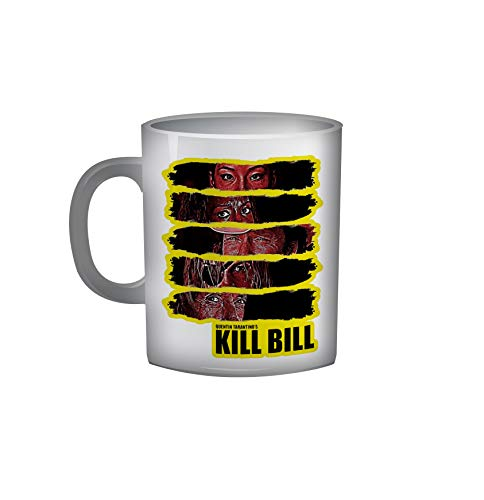 Quentin Tarantino Tazza 9 Collezione Personaggi Decorazioni Idea Regalo Pulp Fiction Kill Bill Grindhouse Bastardi Senza Gloria Le Iene Django Unchained Regista Film Movie