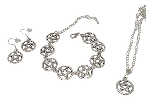 pagan-pentagram-charm-matching-necklace-bracelet-and-earrings-set