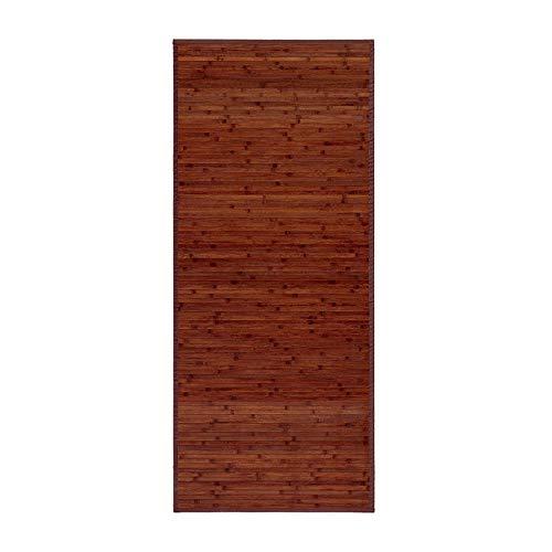 Hogar y Mas Alfombra de Bambú Nogal Natural -